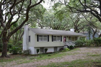 Beaufort, Beaufort Sc, Beaufot Single Family Home For Sale: 2511 Fripp Street