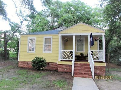 Beaufort, Beaufort Sc, Beaufot Single Family Home For Sale: 503 Tidal Street