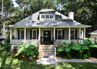 Beaufort County Single Family Home For Sale: 11 Downing Drive