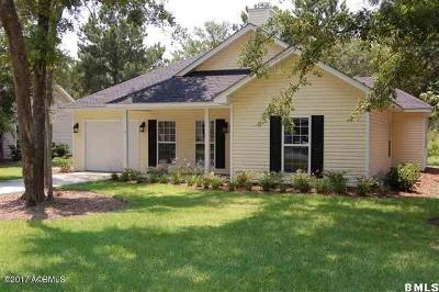 Beaufort SC Single Family Home Sold: $198,200