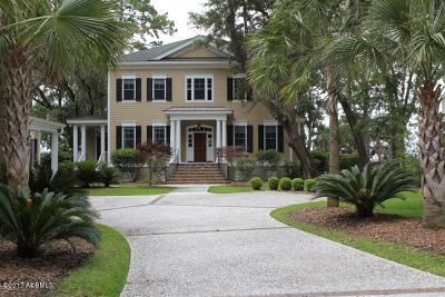 Beaufort County Single Family Home For Sale: 4 Claires Point Road