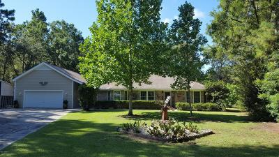 Beaufort Single Family Home For Sale: 1 Walnut Hill Street