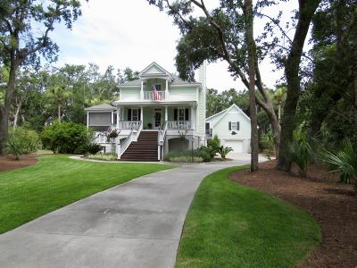 Fripp Island Single Family Home For Sale: 711 Marlin Drive