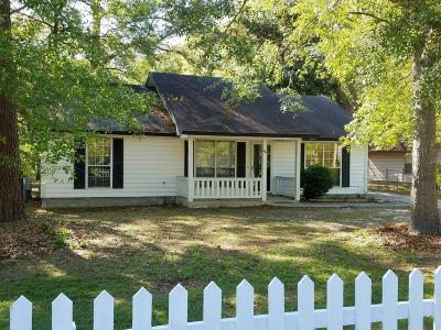 Beaufort, Beaufort Sc, Beaufot Single Family Home For Sale: 49 Burlington Circle