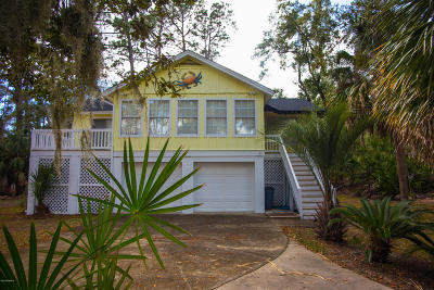Fripp Island Single Family Home For Sale: 377 Blue Gill Road