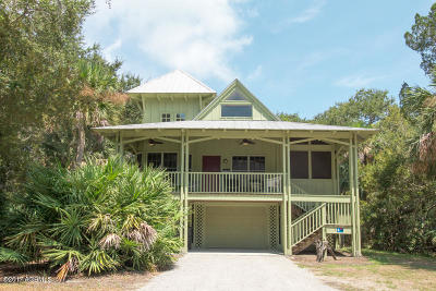 Fripp Island Single Family Home For Sale: 8 Fiddlers Cove Drive