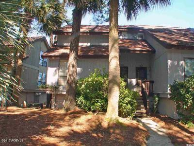 Fripp Island Condo/Townhouse For Sale: 229 Tennis Villa