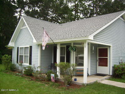 Beaufort County Single Family Home Under Contract - Take Backup: 5 Lisbon Way