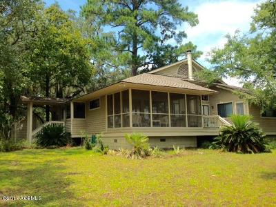Beaufort Single Family Home For Sale: 315 Pleasant Point Drive
