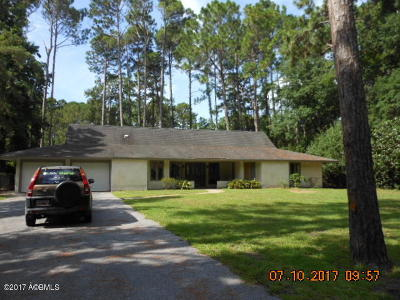 Beaufort, Beaufort Sc, Beaufot, Beufort Single Family Home For Sale: 31 Royal Pines Boulevard
