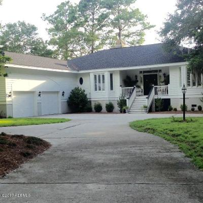 Beaufort County Single Family Home For Sale: 33 Tuscarora Avenue