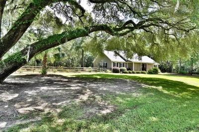 Beaufort County Single Family Home Under Contract - Take Backup: 1 Old Barn Road