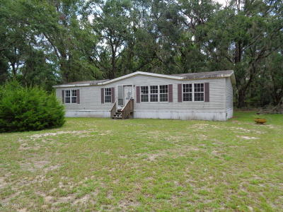 Beaufort County Mobile Home For Sale: 1457 Seaside