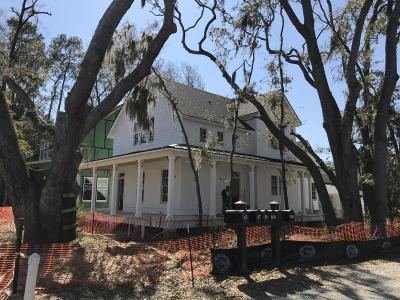 Beaufort Single Family Home For Sale: 19 City Walk Way