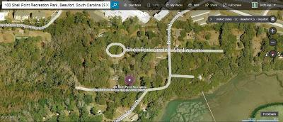Beaufort, Beaufort Sc, Beaufot, Beufort Residential Lots & Land For Sale: 100 Shell Point Recreation Park