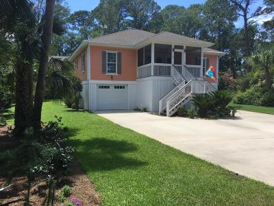 Beaufort County Single Family Home For Sale: 36 Ocean Marsh Lane
