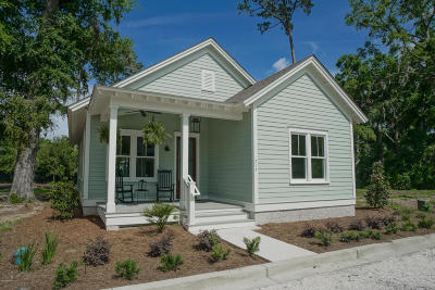 Beaufort Single Family Home For Sale: 517 Water Street