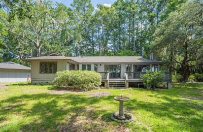 Seabrook Single Family Home For Sale: 38 Whale Branch Drive