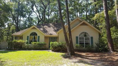 Beaufort Single Family Home For Sale: 121 Marsh Drive