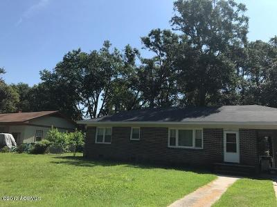 Beaufort Single Family Home For Sale: 1601 Aster