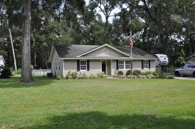 Beaufort Single Family Home For Sale: 13003 Gail Street
