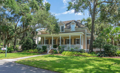 Beaufort County Single Family Home For Sale: 120 Coosaw Club Drive