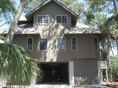 Fripp Island Single Family Home Under Contract - Take Backup: 385 Wahoo Drive