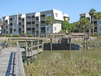 Fripp Island Condo/Townhouse For Sale: 197 Beach Club Villa