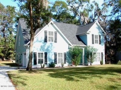 Beaufort, Beaufort Sc, Beaufot Single Family Home For Sale: 54 Gadwall W