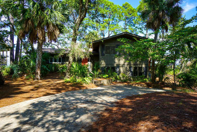 Beaufort County Single Family Home For Sale: 817 Speckled Trout Road
