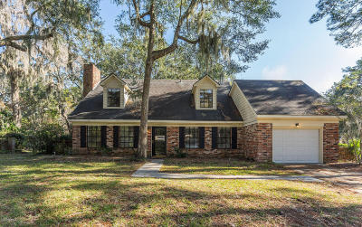 Beaufort County Single Family Home Under Contract - Take Backup: 104 Stuart Town Road