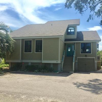 Fripp Island Single Family Home For Sale: 20 Fairway Club Drive