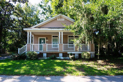 Beaufort Single Family Home For Sale: 1922 Duke Street