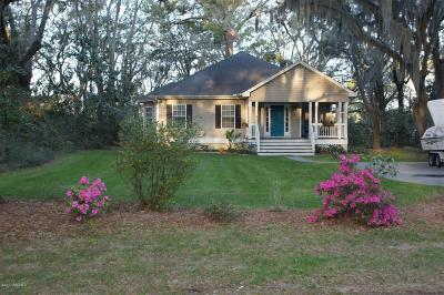 Beaufort County Single Family Home Under Contract - Take Backup: 191 Brickyard Point Road S