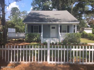 Beaufort Single Family Home For Sale: 1817 Lovejoy Street