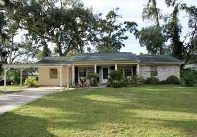 Baufort, Beaufort, Beaufot, Beufort Single Family Home Under Contract - Take Backup: 3003 Dogwood Street