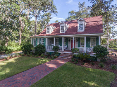 Beaufort, Beaufort Sc, Beaufot, Beufort Single Family Home For Sale: 405 Battery Chase
