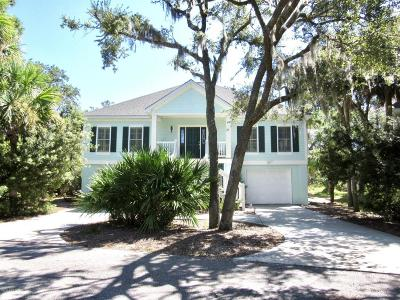 Fripp Island Single Family Home For Sale: 16 Fiddlers Cove
