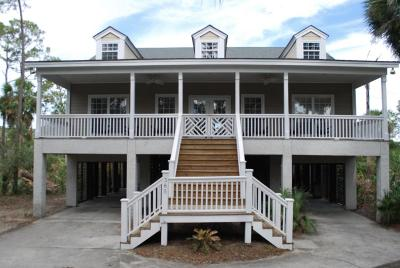 Fripp Island Single Family Home For Sale: 365 Wahoo Drive