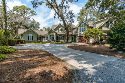 Beaufort County Single Family Home For Sale: 63 Widewater Road