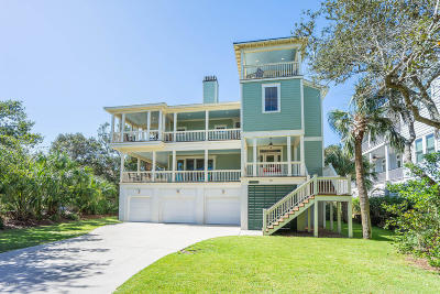 Fripp Island Single Family Home For Sale: 719 Sea Dragon Lane