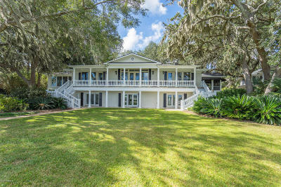 Beaufort, Beaufort Sc, Beaufot Single Family Home For Sale: 115 Verdier Road