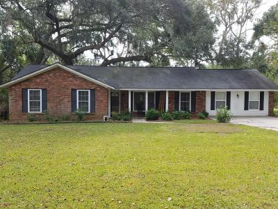 Beaufort Single Family Home For Sale: 880 Broad River Drive