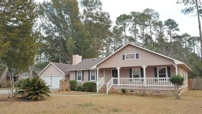 Beaufort Single Family Home For Sale: 5914 Pleasant Farm Lane