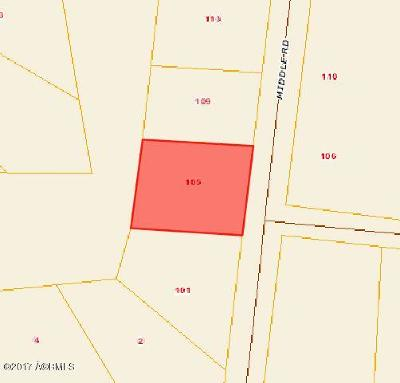 Beaufort, Beaufort Sc, Beaufot, Beufort Residential Lots & Land For Sale: 105 Middle Road