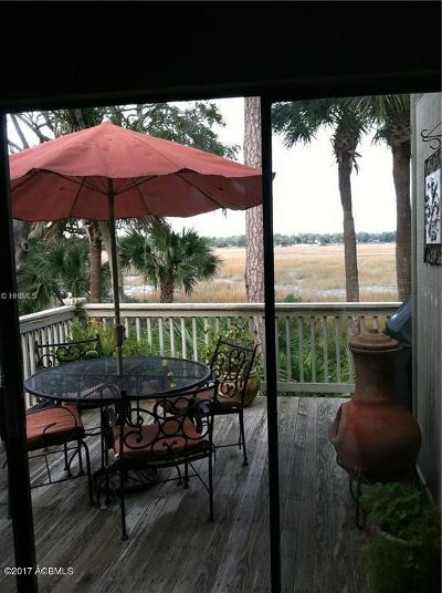 Beaufort County Condo/Townhouse For Sale: 3 Compass Point #3b