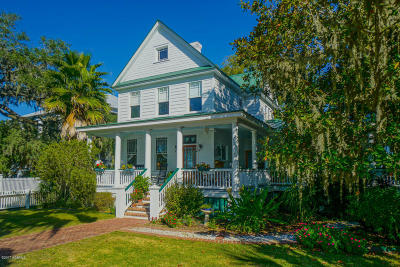 Beaufort Single Family Home For Sale: 1307 Bay Street