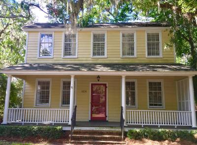 Beaufort, Beaufort Sc, Beaufot Single Family Home For Sale: 608 Prince Street
