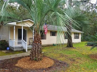Beaufort County Single Family Home Under Contract - Take Backup: 9 Springfield Road