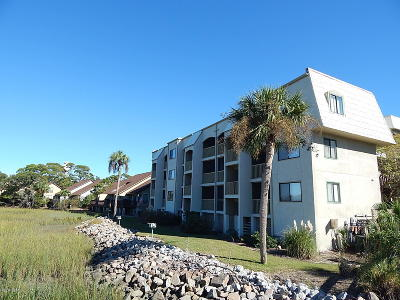 Beaufort County Condo/Townhouse For Sale: 192 Beach Club Villa